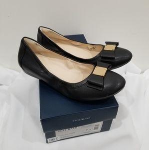 Cole Haan Tali Bow Black Flats - Size 7